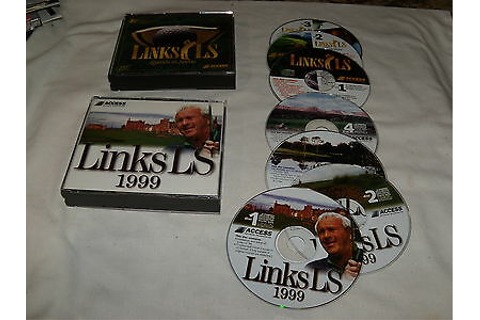 Links LS 1999 (PC,1999) & Links LS Legends in Sports (PC ...