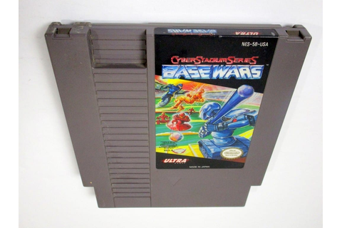 Cyberstadium Series Base Wars game for NES (Loose) | The ...
