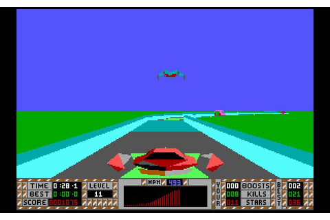 S.T.U.N. Runner Download (1990 Arcade action Game)
