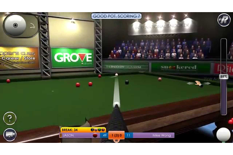 International Snooker PC game - YouTube