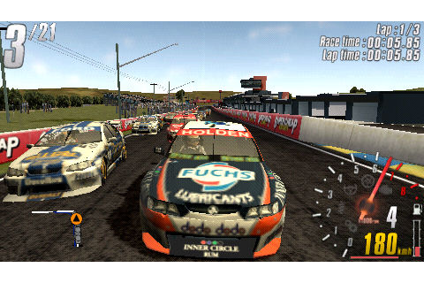 V8 Supercars 3 PSP Racing Game | Best Game You Need For ...