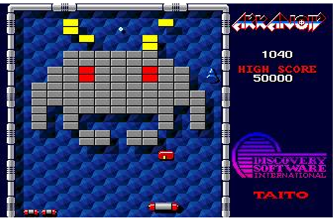 Arkanoid Download (1987 Amiga Game)