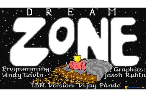 Dream Zone gameplay (PC Game, 1988) - YouTube