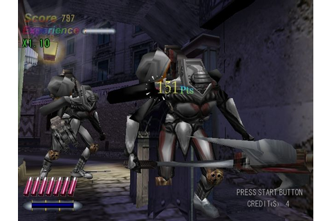 Death Crimson OX Screenshots for Dreamcast - MobyGames
