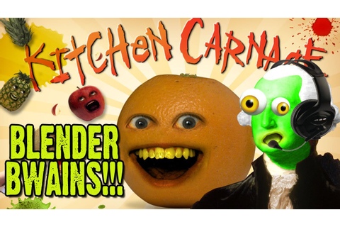 ZGW Plays Annoying Orange Kitchen Carnage Game!!! - YouTube