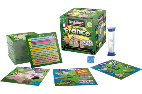 BRAIN BOX - VOYAGE EN FRANCE sur Mister good game