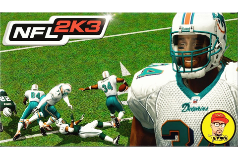 NFL 2K3: Ricky Williams Stiff Arm is Literally Cheese in ...