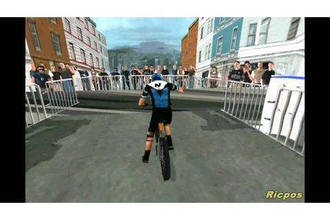 PS1 - No Fear Downhill Mountain Bike Racing - Gameplay ...