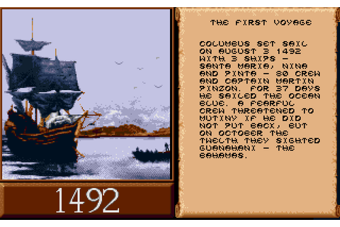 Скриншоты Discovery: In the Steps of Columbus на Old-Games.RU