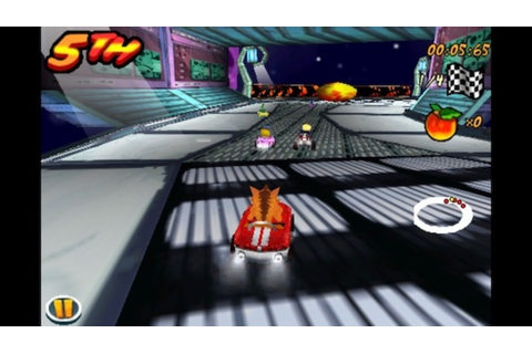 crash bandicoot, nitrokart, 3d, iOS, android, game, racing ...