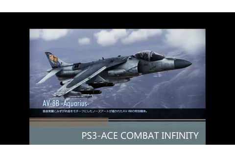 PlayStation 3-ACE COMBAT INFINITY Gameplay - YouTube