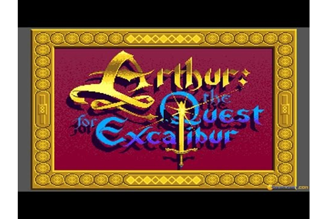 Arthur: the Quest for Excalibur gameplay (PC Game, 1989 ...