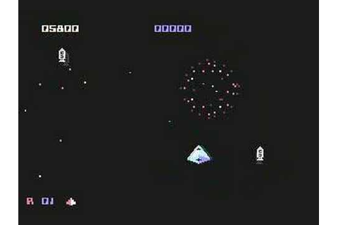 Commodore 64 - Crazy Comets - YouTube