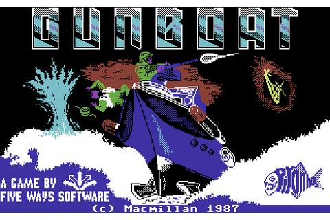 Gunboat (1987) by Five Ways Software C64 game