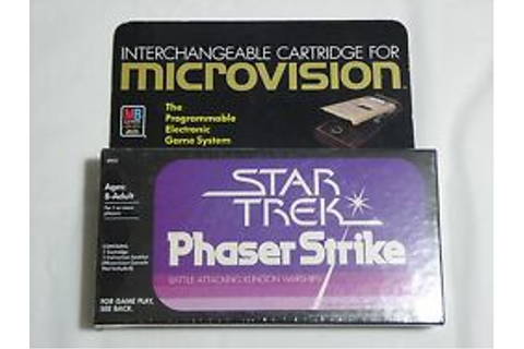 Microvision consoles, video games & vintage handhelds