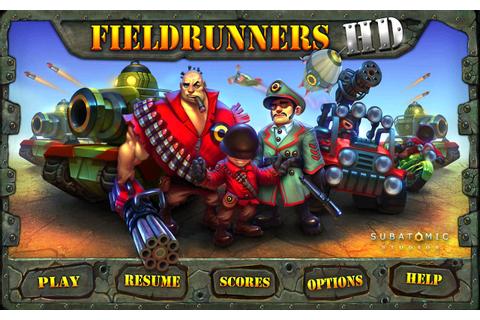 Fieldrunners HD - Android Apps on Google Play