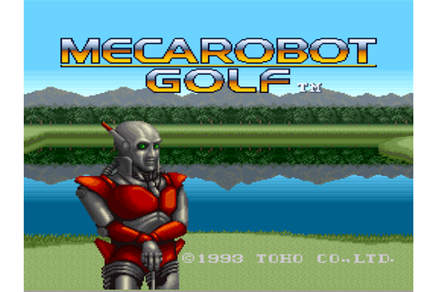 Mecarobot Golf Screenshots | GameFabrique