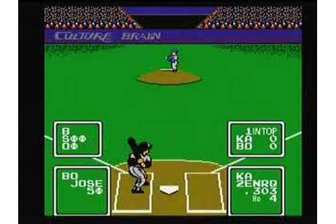 Baseball Simulator 1000 nes nintendo - YouTube
