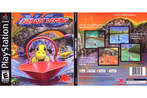 XS Airboat Racing (NTSC-U PAL EU Eng Fr Ger Ital Spa ...