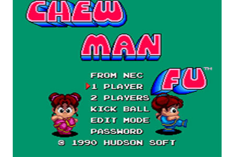 Chew Man Fu Review for TurboDuo (1990) - Defunct Games