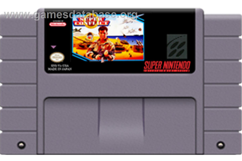 Super Conflict: The Mideast - Nintendo SNES - Games Database