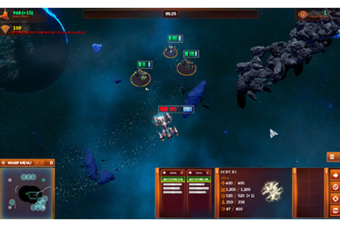Starfall Tactics PC preview - A fun RTS space wargame - TGG