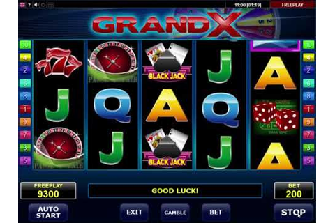 GrandX video slot - Online Casino game Review by Amatic ...