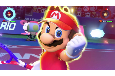 Mario Tennis Aces - Refined Tennis Trailer - New ...