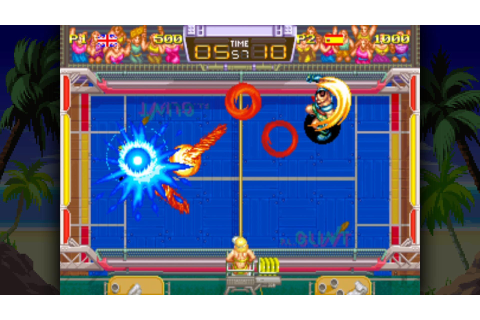 Windjammers Launches On PS Vita & PS4 On August 29, 2017 ...