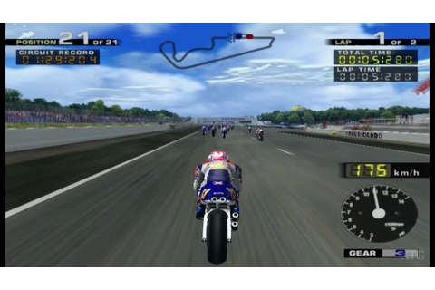 MotoGP PS2 Gameplay HD (PCSX2) - YouTube
