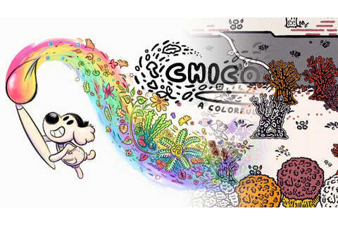 Chicory: A Colorful Tale – Local / Coach Co Op Gameplay ...