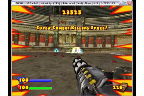 Serious Sam Next Encounter on PCSX2 0.9.6 - Playstation 2 ...
