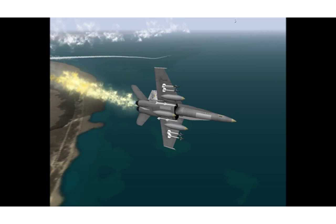 F/A-18 Operation Desert Storm gameplay - YouTube