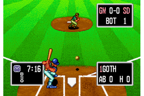 TURN TO CHANNEL 3: Neo Geo's 'Baseball Stars Professional ...