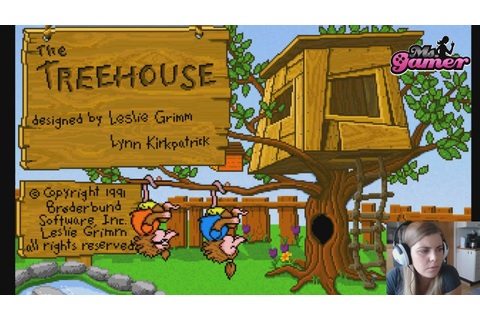The Treehouse ~ Brøderbund Software PC 1991 ~ Played in ...