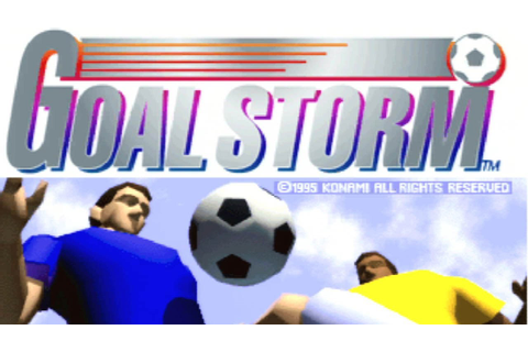 CGRundertow GOAL STORM for PlayStation Video Game Review ...
