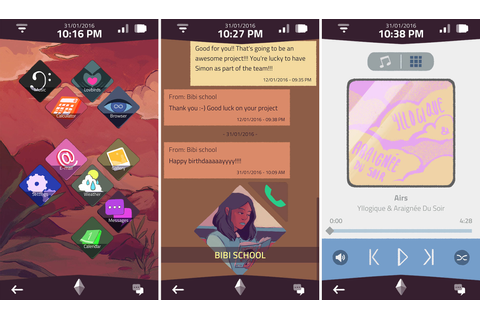 'A Normal Lost Phone' is a game set entirely inside a ...