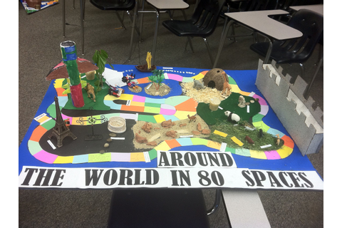 AP World History Game Board Project | Kids learning ...