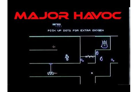 Major Havoc on Atari Anthology for PS2. Played badly ...