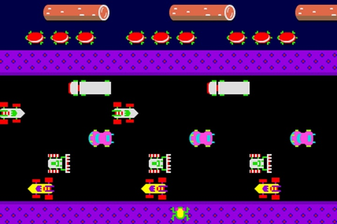 Frogger Retro Game - Frogger games - Games Loon