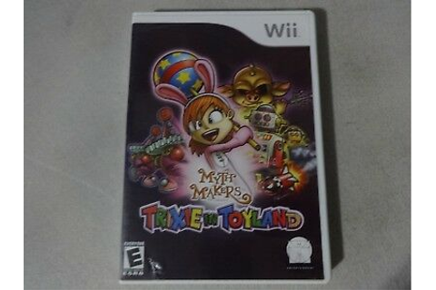 Myth Makers: Trixie In Toyland - Original Nintendo Wii ...