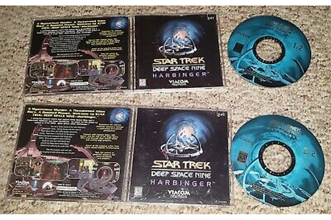 Star Trek Deep Space Nine Harbinger PC/Computer Video Game ...