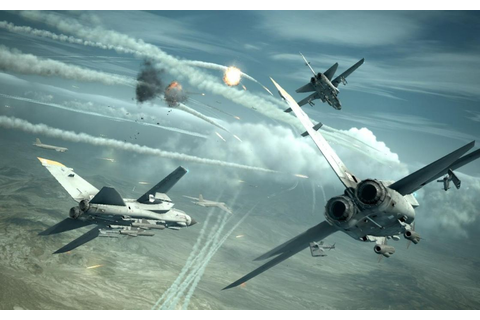 ACE COMBAT game jet airplane aircraft fighter plane ...