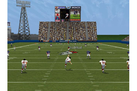 Madden NFL 2000 Download (1999 Sports Game)