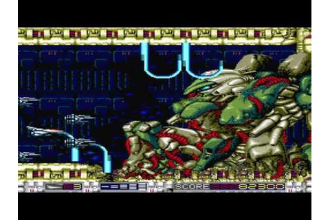 Aldynes [オルディネス] Game Sample -- SuperGrafx - YouTube