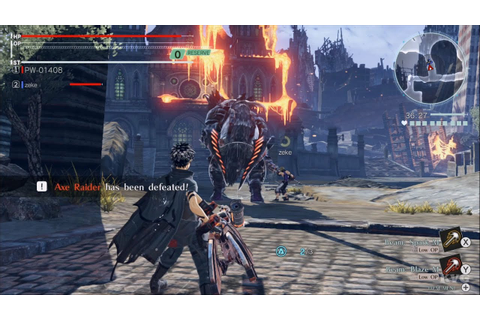 God Eater 3 Gameplay (Nintendo Switch HD) [1080p60FPS ...
