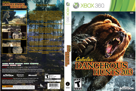 HARD GAMESS: Cabela's Dangerous Hunts 2013 - Xbox 360