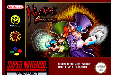 Nightmare Busters - Jeux - RomStation