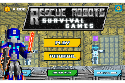 Rescue Robots Survival Games - Android Apps on Google Play