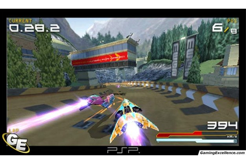 Wipeout Pure Review - GamingExcellence